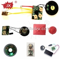 alibaba china Pre-recorded or recordable water/motion/light/vibration/pull tab/sound/press activated sensor module