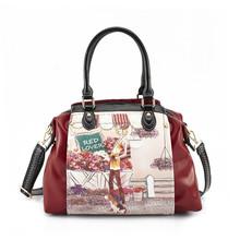 pu leather handbag designer handbag tote shopping bag Luxury handbag leather