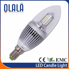 2012 high quality IP20 EMC LED candle