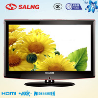 lcd screen for solar power 17inch portable portugal tv hd lcd tv 720p with av& clock