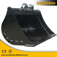 Excavator Mud Bucket with bolt on cutting edge suit for kinds of excavator