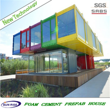 luxury cheap and quick assembled SGS TESTING for luxury container house