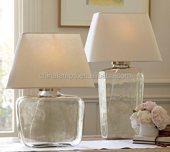 Verlichting woonkamer glas for Mooie tafellampen