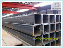 building material square manufacturing steel tube,chinese made pipe specification