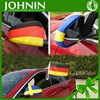 adjustable size new product promotional car mirror cover sock flag