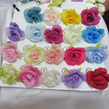 New Design artificial flower head mini rose,Artificial flower corsage