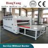 hongyang semi automatic corrugated paperboard flexo printer slotter die cutter machine