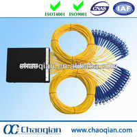 Fiber pigtail for wall mounting cabinets