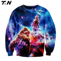 sublimation all over print crewneck sweatshirt,100% polyester crew neck sweatshirt