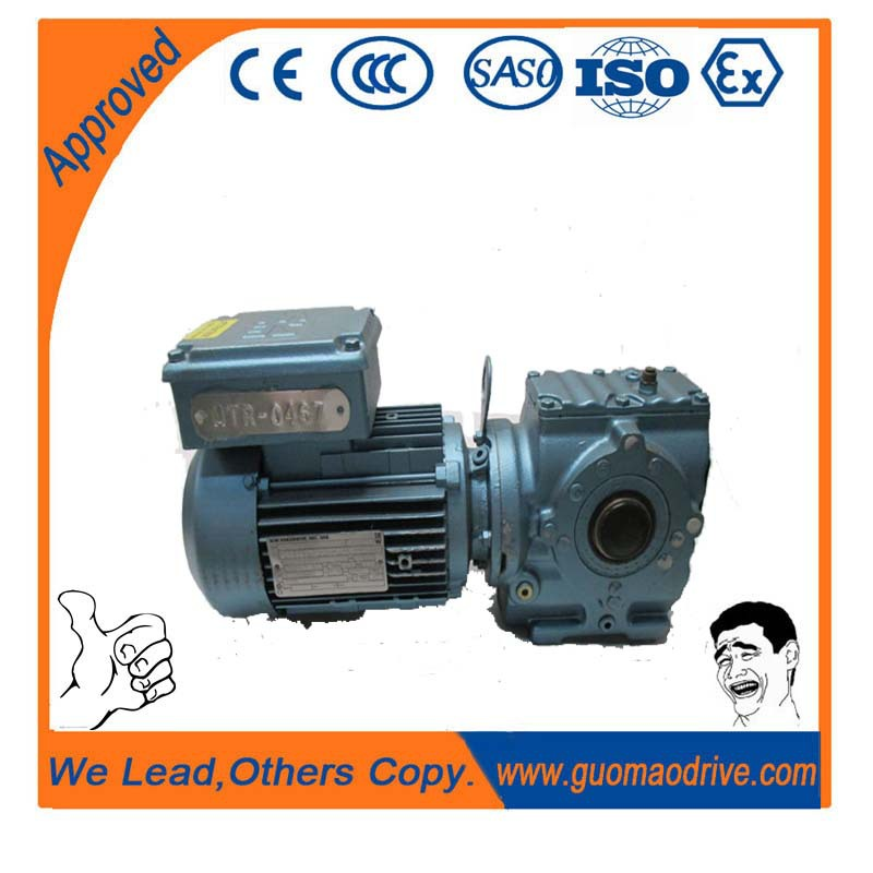Screw conveyor gear reduction electric motor gearboxes for Electric motor with gear reduction