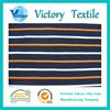 popular Yarn Dyed Stripe Pique Mesh cotton Fabric Wholesale