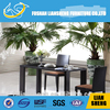 Tempered modern house design buffet restaurant tables and chairs A876L-29+B2078-29