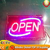2015 alibaba express new innovation led open/close sign board for shops advertising