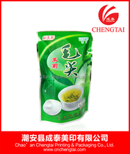 Printed stand up pouch coffee tea bags