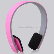 2015 stylish ear plug bluetooth headset v3.0 headphone
