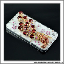 Cheap with sumptuous jewellery cell phone case for iphone 4g 4S