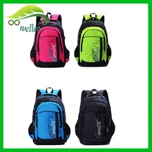 latest fashion custom polyester eco-friendly waterproof backpack for school