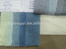 Washed color denim fabric 2012