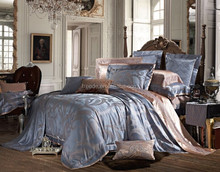 2015 luxury China factory 60%cotton40%polyester Jacquard cotton bedding set,duvet cover with lace