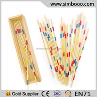 Wooden Mikado Spiel Chopsticks Pick Up Stick Game Educational Toys