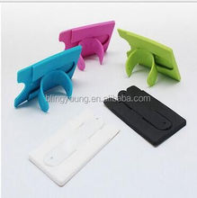 Phone Holder Credit Card Silicone Wallet For Smart Wallet Phone Case