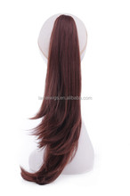 factory supply synthetic ponytail hairpieces for party