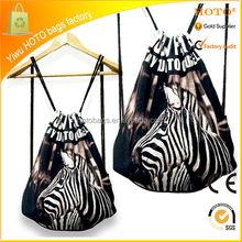 2015 hot sale fashion cheap leather drawstring bag drawstring bag making/nylon drawstring bag