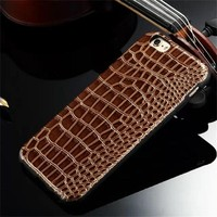 cheap fancy mobile phone leather cover for iphone 6plus, custom phone case for iphone 6 case