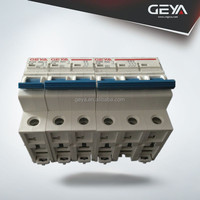 CE certificate miniature circuit breaker/similar hyundai mcb 6a1p