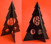 Maravilloso nuevo estilo personalizado acrílico árbol para la navidad