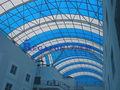 Policarbonato telhado cobrindo folha de plástico clarabóia painel