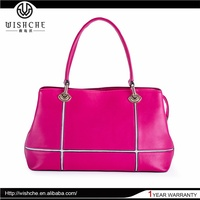 Wishche Hotsale Oem Design Leather Underarm Shoulder Bag Wholesale Manufacturer W076