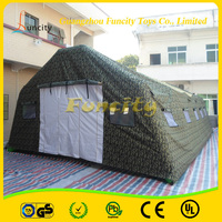 outdoor gaint inflatable military tent by Funcity for sale