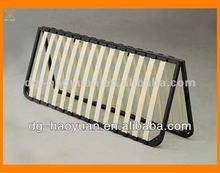 Folding Type Wood Slats Bed Frame Wholesales folding double bed designs