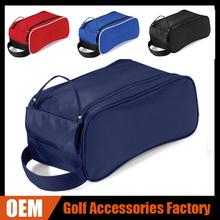 OEM Custom Golf Shoe Bag With Handle Carry 4 Color Nylon High Quality Golf Shoes Bag