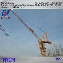 For building 250 ton crawler crane