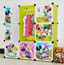 new style diy folding cartoon luxury closet storage
