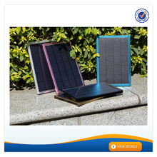 AWC608 Solar Laptop Charger 10000mAh Big Solar Panel Charger For Iphone