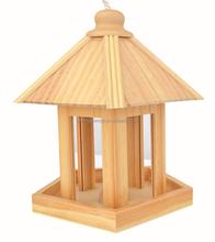 Ventas calientes del nuevo auto-ensambladas natural de madera del birdhouse, casa del pájaro DIY productos de madera