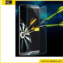 Removable screen protector accessories tempered glass screen protector 0.4mm anti shock for LG G3