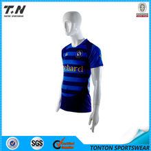 sublimación equipo de diseño de camiseta de fútbol