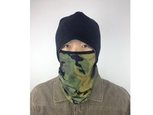 Stretches High quality Unisex Chinese Cycling Colorful Sublimation Neck Knitted Decorative Motorcycle Balaclava Helmets