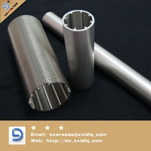 Johnson v wire wrap screen /Low carbon steel casing pipe price