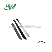 Plastic or wood handle machete handle for farm cutting sugarcance