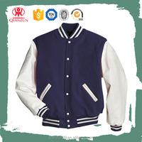 Mens Plain Baseball Varsity Jacket Cotton Material Jacket