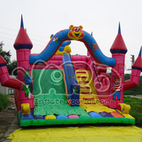 Bouncy castle inflatable slide for kids and adults
