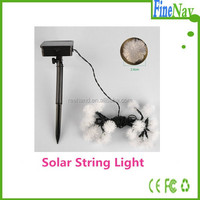 Outdoor Holiday Light for Decoration with Solar Panel Powered