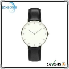 Hot selling stainless steel case japan movement 3ATM dw style watches men luxury brand automatic