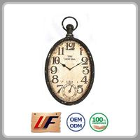 Wholesale Dining Decor New Style Fashionable Design Metal Wall Small Clocks For Craft
