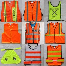 Factory Price Trade Assurance CE ENISO20471 High Visibility Safety Reflective Vest